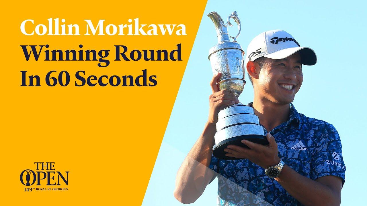 Collin Morikawa's Winning Round in 60 Seconds