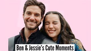 Ben Barnes & Jessie Mei Li | Cute Moments