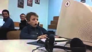 Мальчик увидел порно! Прикол