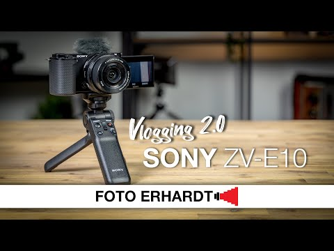 Vorgestellt: Sony Alpha ZV-E10 - Vloggen für alle, flexibel und einfach!
