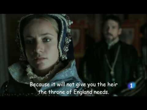 Mary Tudor in 'Carlos, Rey Emperador' - The new Queen of England
