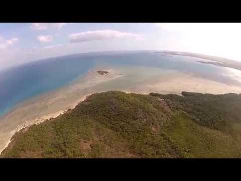 Flying into Torres Strait