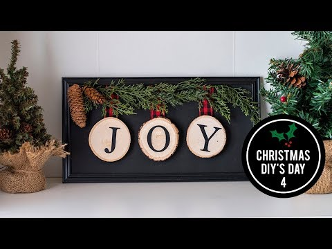 Christmas DIY Day 4 - DIY Christmas Home Decor