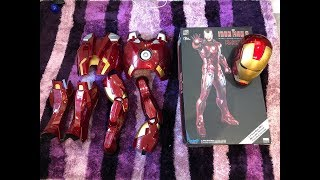 Killerbody 1:1 Iron Man Mark VII Wearable Armour Suit Finished Version Unboxing ENGLISH ironman