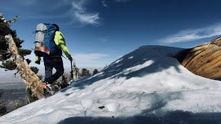 Download Mount Baden-Powell solo winter climb via Vincent Gap and the PCT  SoCal hiking at its best in 4K mt