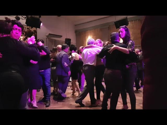 Milongueando con la Orquesta Sans Souci en Salón Canning 2019