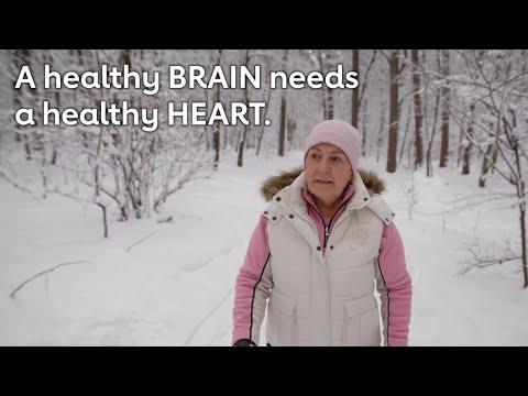 A healthy brain needs a healthy heart.