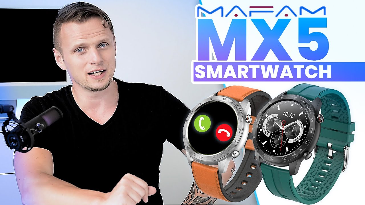 MAFAM MX5 SMARTWATCH: Things To Know // Bluetooth Calls Watch