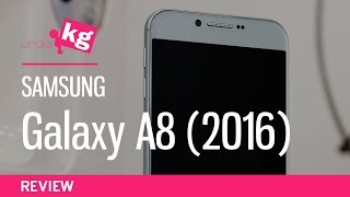 Samsung Galaxy A8 (2016) Review: Big, Sleek, and Snappy [4K]