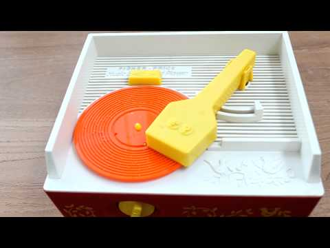 70s Fisher Price Record Player Playing The Star Wars Theme