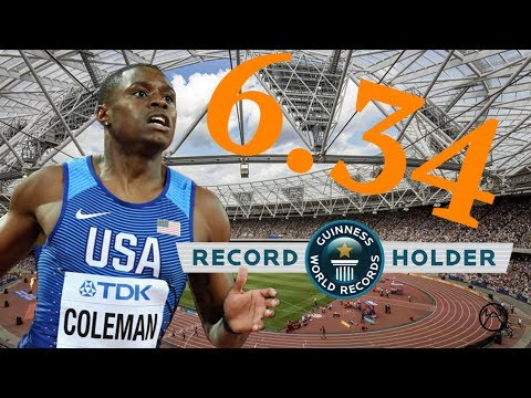 HOW CHRISTIAN COLEMAN BROKE THE 60 METER WORLD RECORD