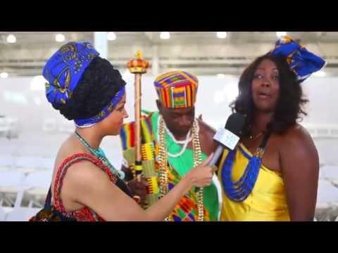 African Fashion Week London  2015 - Zanjoo