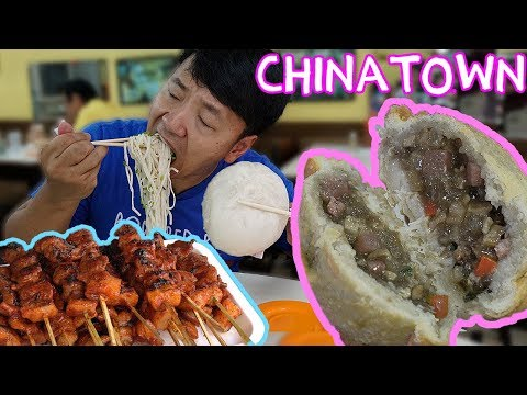The OLDEST CHINATOWN In The World! Street Food Tour of Binon