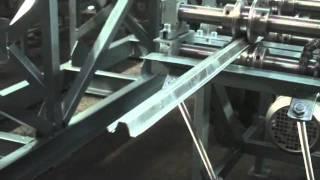 Станок для изготовления омега профиля СПО(Работа профилировочного станка для производства омега-профиля., 2011-09-09T10:35:46.000Z)
