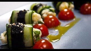 Огуречные роллы | 7 нот вегетарианской кухни