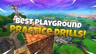 Best Building/Editing Techniques To Practice In Playground! - Fortnite Tips And Tricks Ep.3
