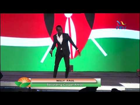 Willy Paul's performance at NASA manifesto launch