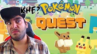qué rayos es pokémon quest? probando el juego envivo directo