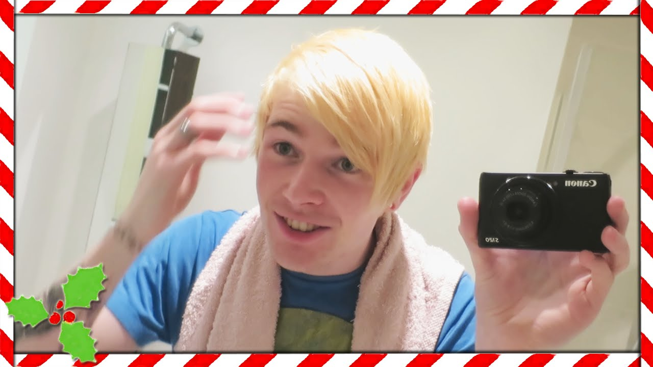 Dyeing My Hair Blonde Vlogmas Youtube