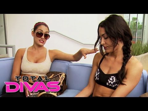 The Bellas talk about their relationship issues after yoga class: Total Divas, Nov. 24, 2013 thumbnail