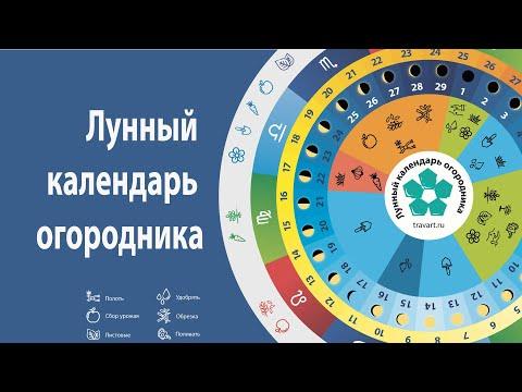 Лунный календарь садовода и огородника 2020 Траварт Луна фаза в знаке зодиака  скачать