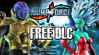 JUMP FORCE - NEW FREE DLC CHARACTERS! Kane & Galena FREE DLC Update Playable Characters