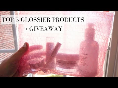 Top 5 Glossier Products + Giveaway!