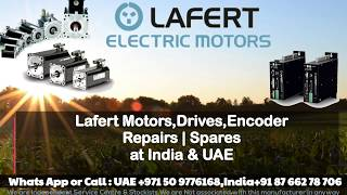 Lafert Servo Motor Repair India | UAE Dubai - Encoder Resolver Align, Adjust, Install How