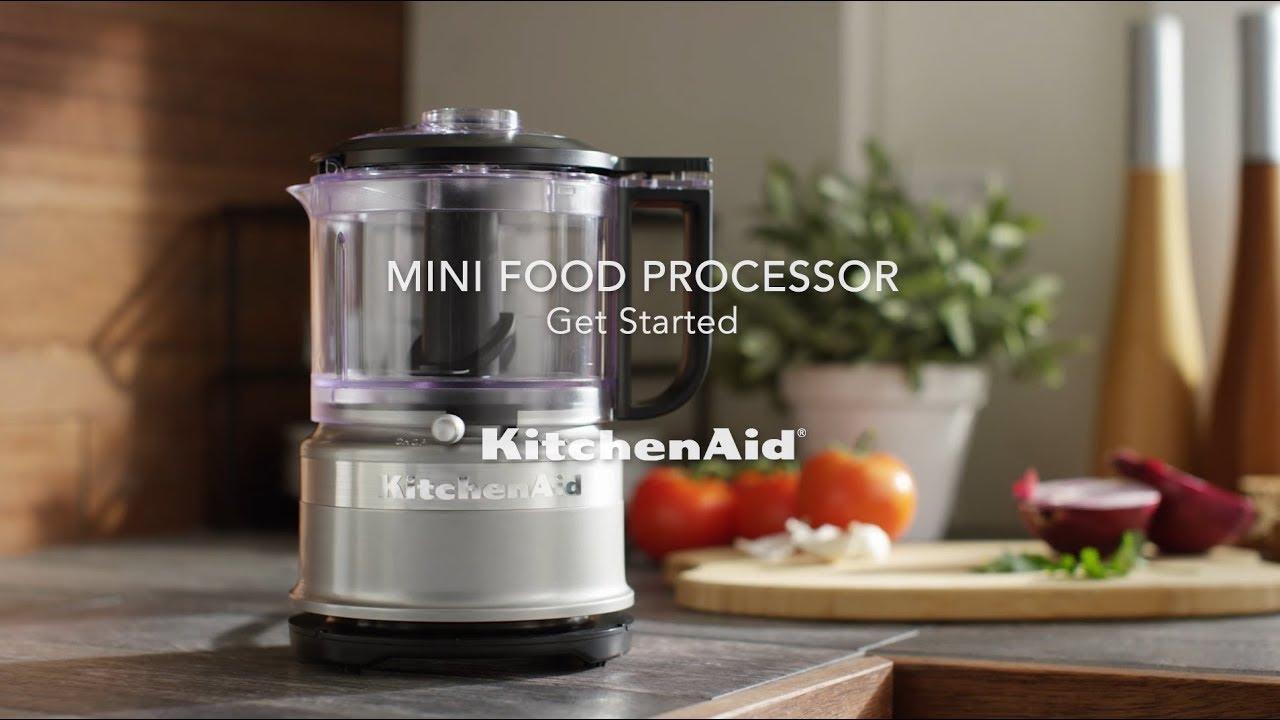 How to use KitchenAid® 3.5 Cup Mini Food Chopper