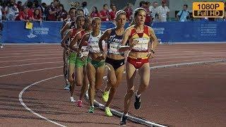 Women's 5000m at Mediterranean Games Tarragona 2018