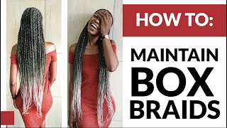 How To Care - Edge Braid