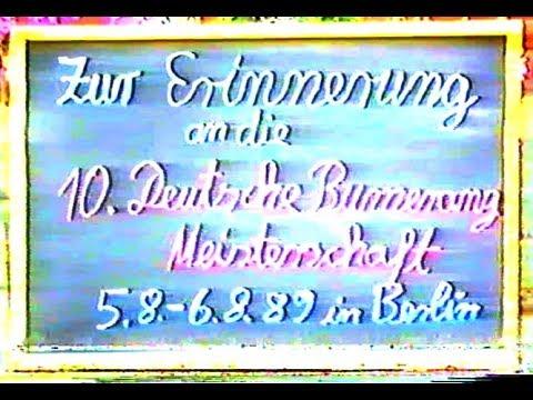 Deutsche Bumerang Meisterschaft 1989 Berlin