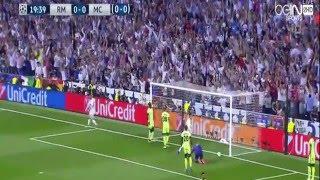اهداف ريال مدريد ومانشستر سيتي 1-0 كاملة ( دوري ابطال اوربا 2016 ) HD