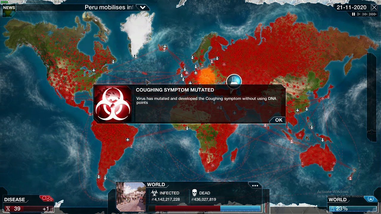 Plague inc. Virus Mega Brutal Guide - YouTube