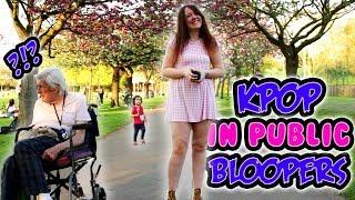 Kpop in public dance bloopers!【Xina】