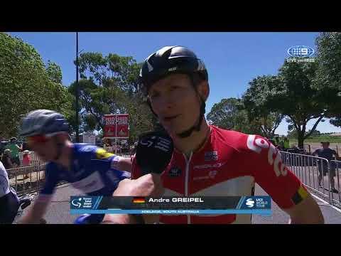 Stage 1 winner Andre Greipel | Santos Tour Down Under