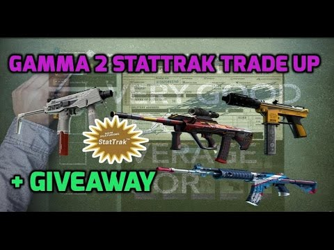 Gamma 2 StatTrak Classified Trade Up + Rockepop Giveaway CS:GO #44