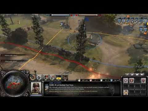Company Of Heroes 2 Japan Player Live And Age Of Empire 2 Youtube