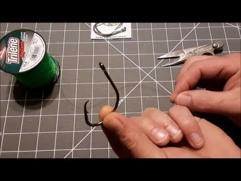 Fastest Way To Tie A UV Black Light Clinch Knot For Fishing