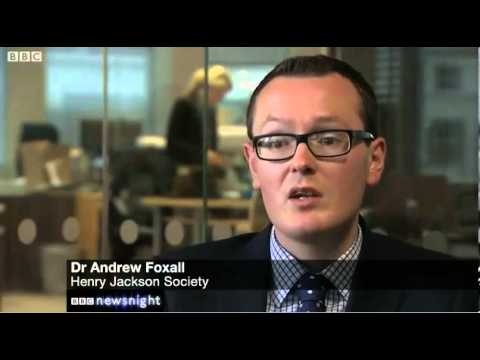 October 15th, 2013: Dr Andrew Foxall talks to BBC ...