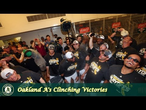 Oakland A's Grab Bag Episode 1 - Clinching Victories
