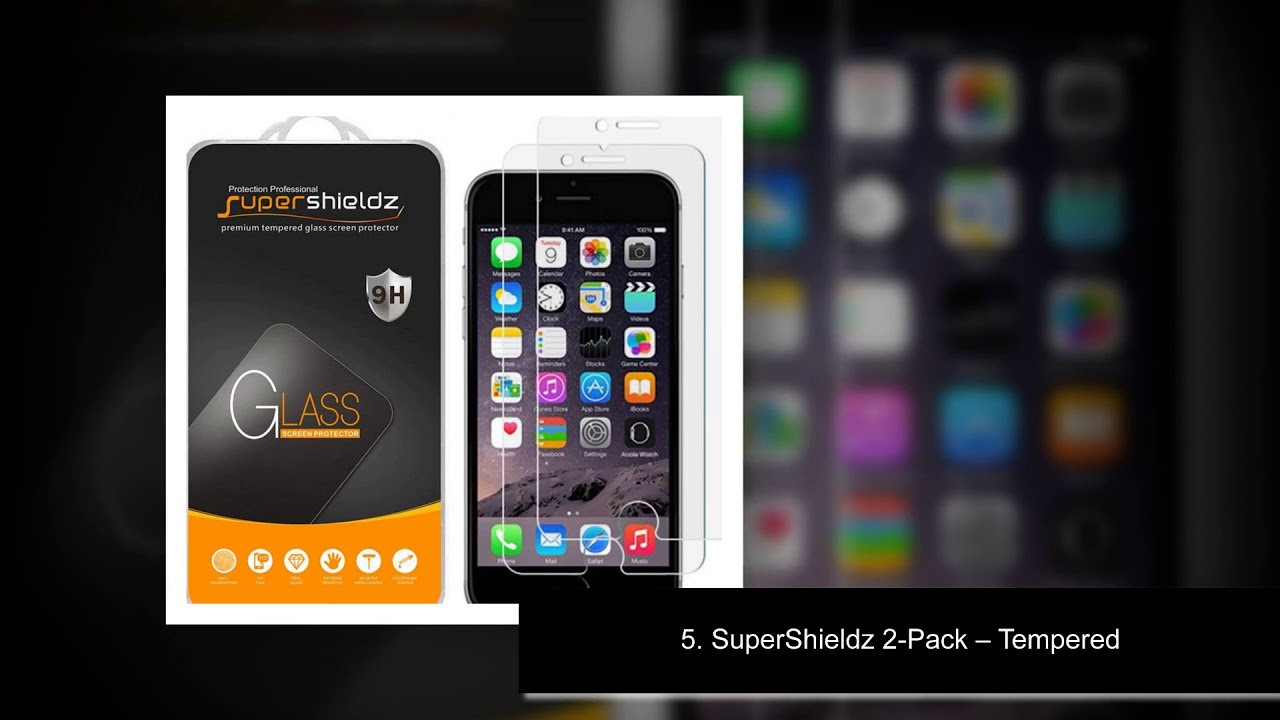 new concept 5e367 9aa5c Top 10 Best iPhone 7 Screen Protector - YouTube
