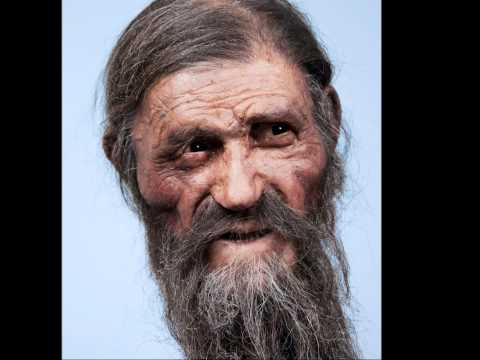 Otzi the iceman's face reconstructed!