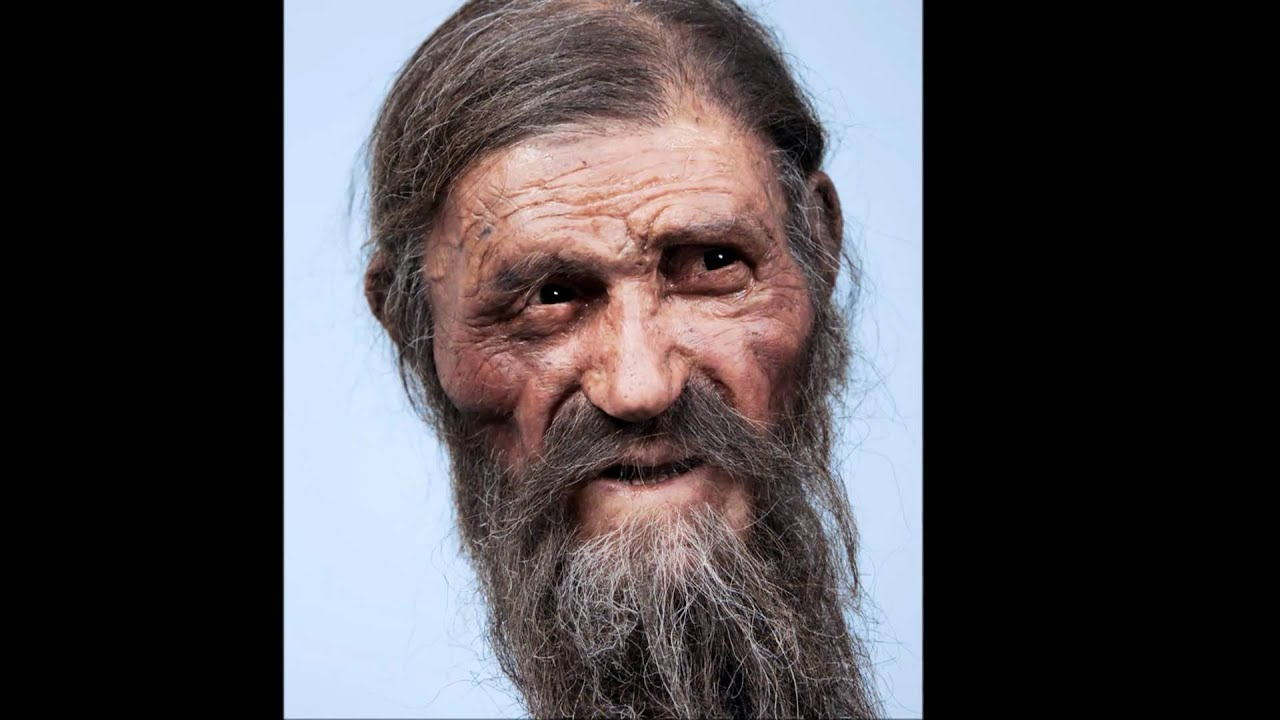 Otzi the iceman s face reconstructed youtube