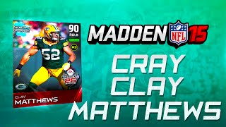 Madden NFL 15 Ultimate Team - THROWBACK CLAY & CALVIN GO BEZERK IN DEBUT  -  MUT 15