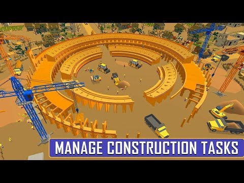 Colosseum Construction Building Simulator (by OneTen Games) Android Gameplay [HD]