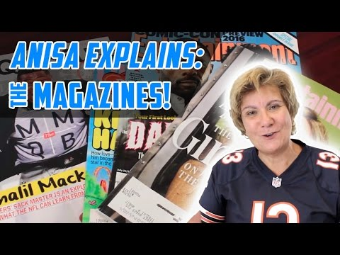 What's this magazine thing about?