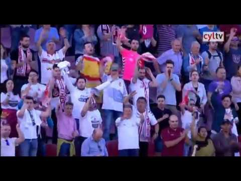 FC Barcelona B 0 - CyD Leonesa 2. Partido de ida play-off ascenso