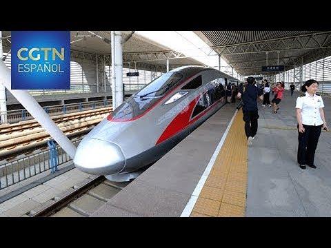 El tren bala Fuxing operará a partir del 21 de agosto en el área Beijing-Tianjin-Hebei