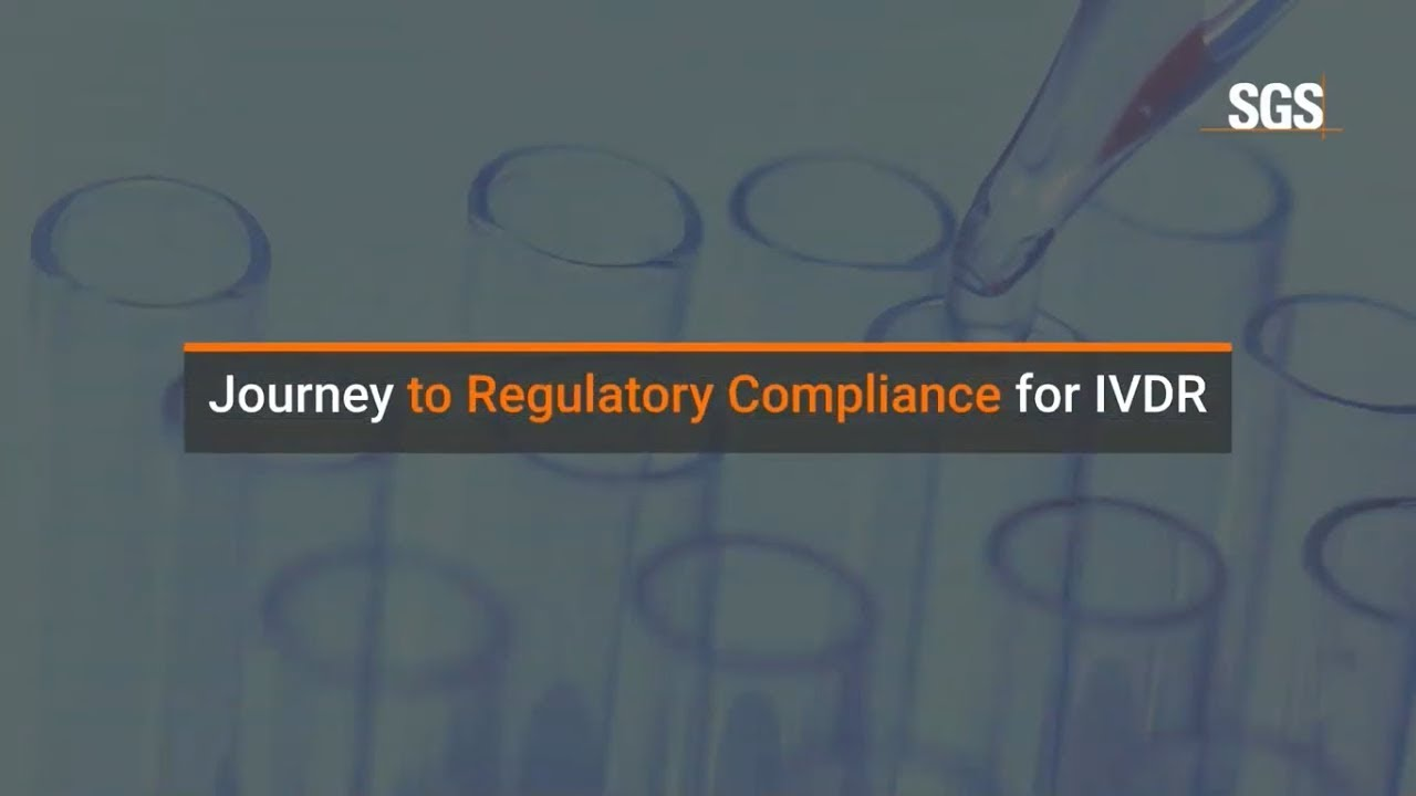 Journey to Regulatory Compliance for IVDR